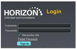 How to log into your Gamma Horizon portal - T2K