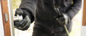avoid sneak-in burglaries thieves