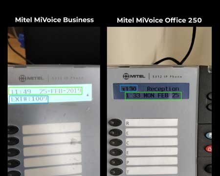 mivoice office 250 mivoice business 3300 difference