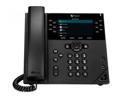 Polycom VVX450 VoIP Phone
