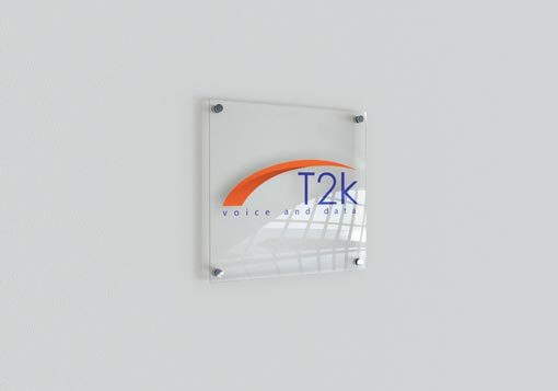T2K Wall Sign